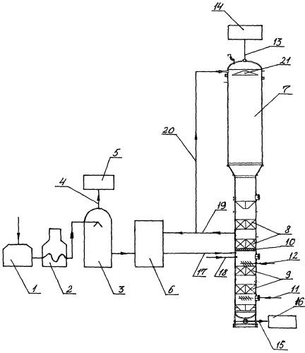 Установка для получения олигомерного наноструктурированного битума