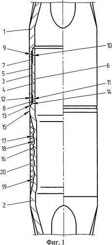 Соединение профильных труб перекрывателей скважин