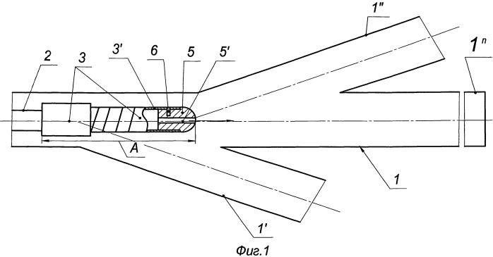 Устройство для исследования открытых стволов многозабойных горизонтальных скважин