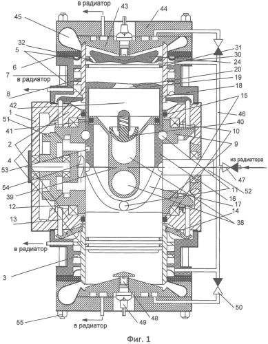 Способ наддува в цилиндр двигателя внутреннего сгорания и устройство для его осуществления