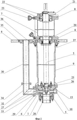 Конструктивно-технологический модельный ряд химических вертикальных насосов (варианты)