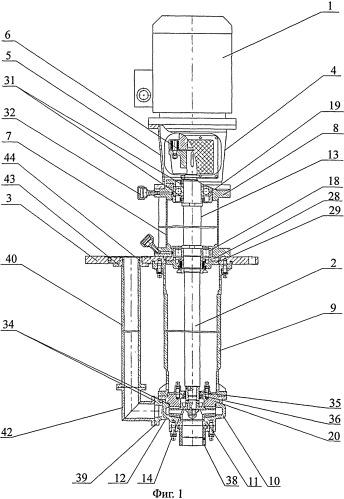 Способ производства химического вертикального электронасосного агрегата и электронасосный агрегат, выполненный этим способом (варианты)