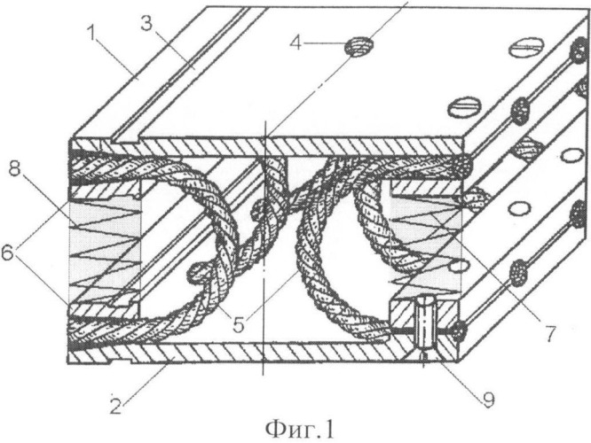 Виброизолятор тросовый