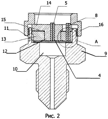Волоконно-оптическое устройство измерения давления
