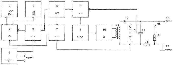 Устройство для непрерывного контроля сопротивления изоляции кабеля