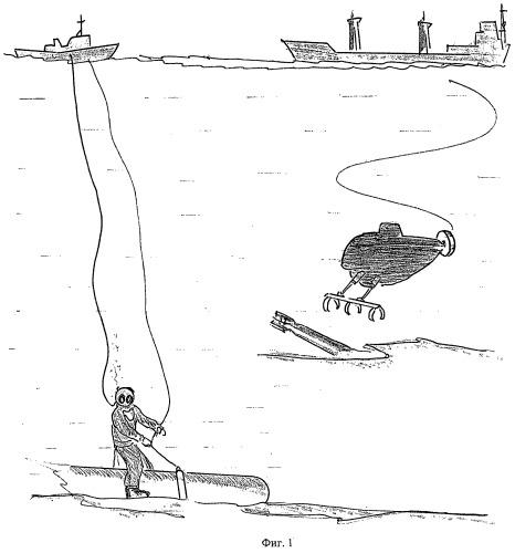 Способ подъема затонувшего объекта и устройство для его осуществления