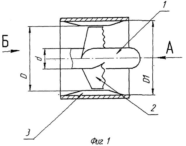 Лопастная система водометного движителя
