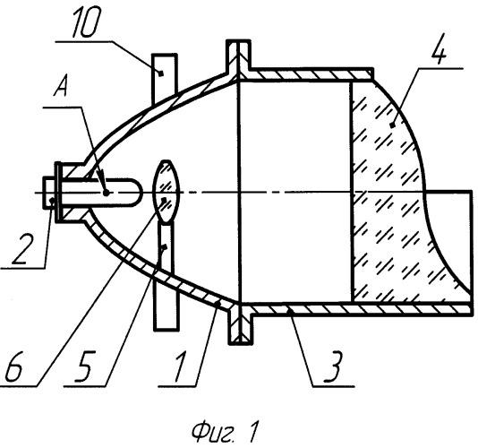 Прожектор с линзовым формированием светового потока
