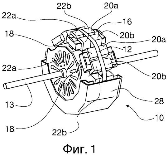 Модульное электромагнитное устройство, выполненное с возможностью обратимой работы в качестве генератора и электродвигателя