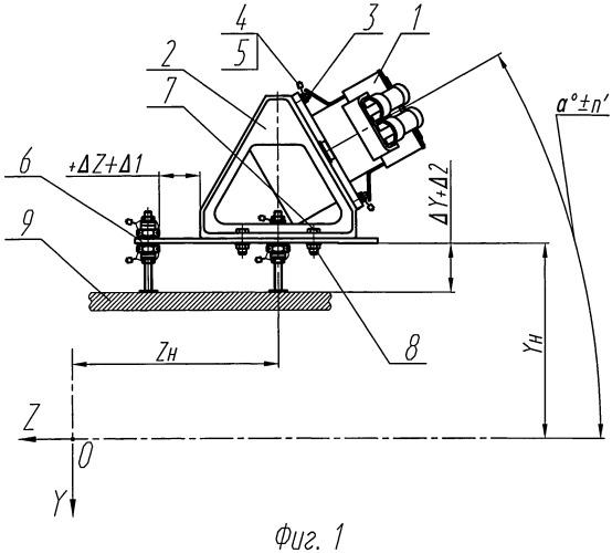 Устройство установки агрегатов на изделии