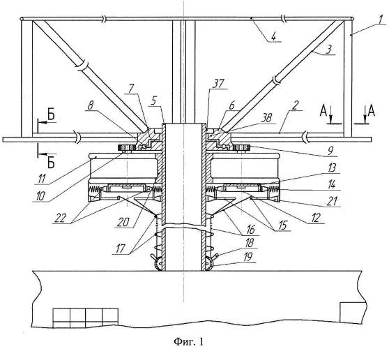 Способ размещения роторной ветроэнергетической установки на дымовой трубе