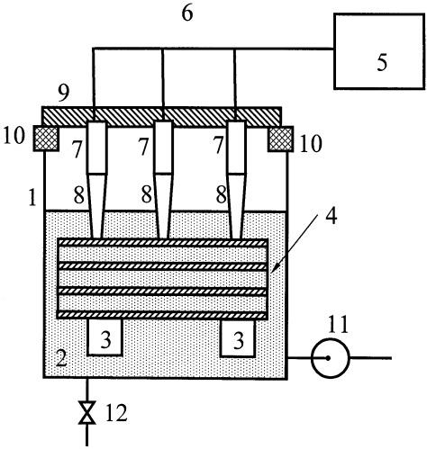 Способ дезактивации оборудования от радиоактивных загрязнений и устройство для его осуществления