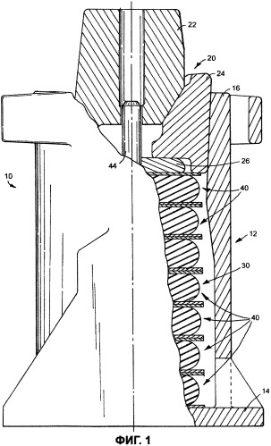 Эластомерная пружина для железнодорожного вагона