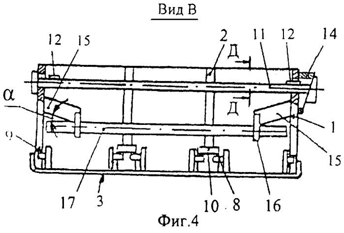 Саморазгружающаяся многорядная кассетная форма для изготовления штучных изделий, например, стеновых блоков