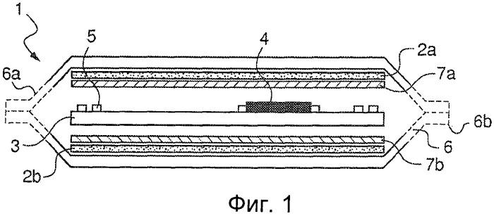 Защищенная структура, содержащая микроэлектронное устройство, а также водяной знак или его имитацию