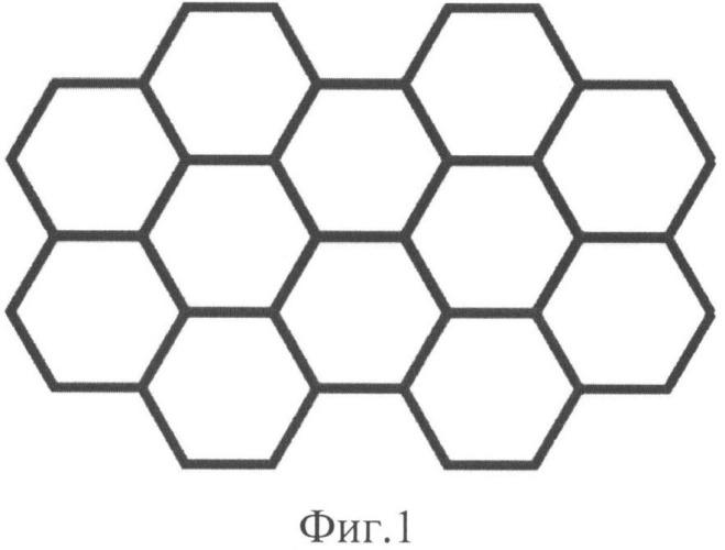 Тестовая структура для оценки радиуса кривизны острия иглы кантилевера сканирующего зондового микроскопа