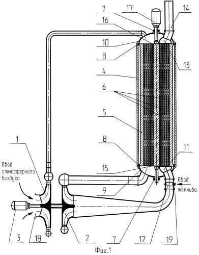 Способ работы энергетической установки малой мощности, например, на попутном нефтяном газе и энергетическая установка для его осуществления