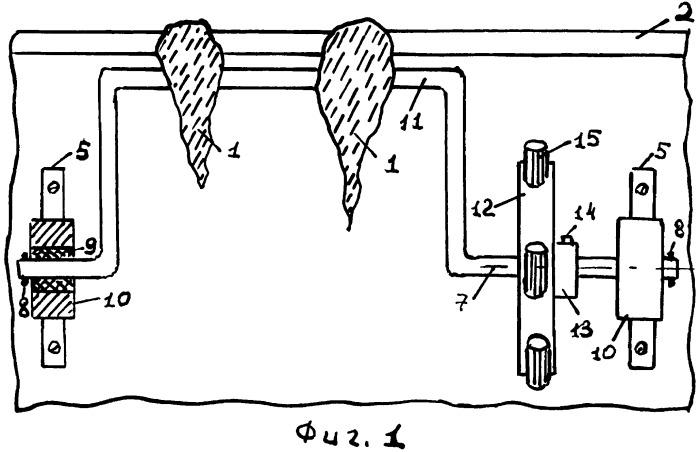 Устройство для автоматического механического удаления сосулек