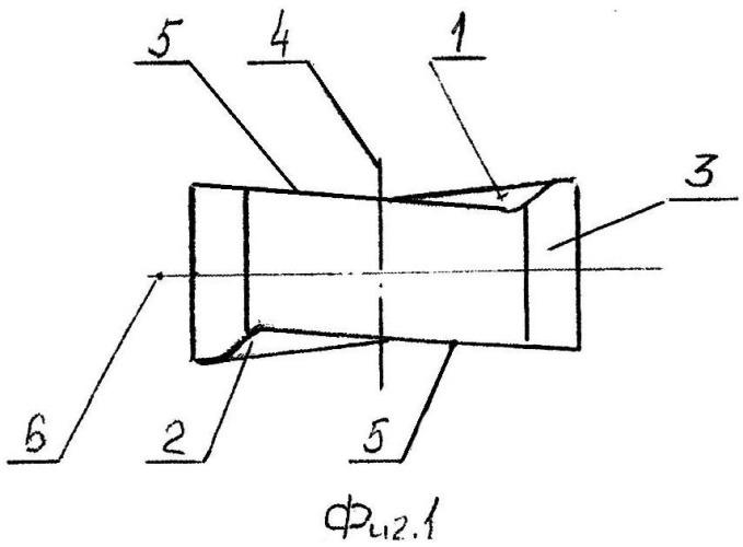 Сменная двухсторонняя режущая пластина и режущий инструмент