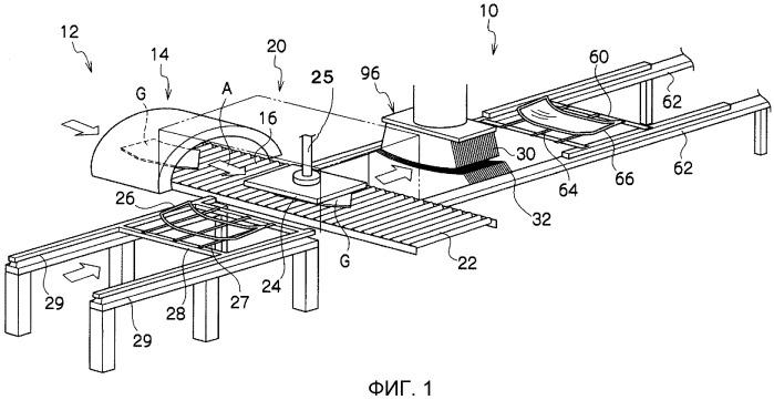Воздухоохладительное/закалочное устройство для листового стекла и способ воздушного охлаждения/закалки