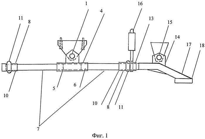 Корректор крюковой нагрузки качельного типа для колесного трактора класса 1,4