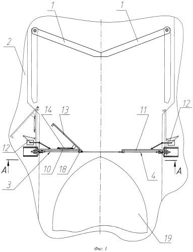 Предохранительное устройство ворот шлюза