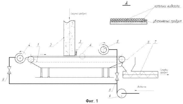 Устройство для смешивания сыпучих компонентов с жидкостью