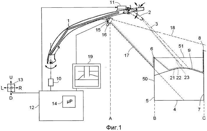 Способ направления разгрузочного устройства уборочной машины в контейнер