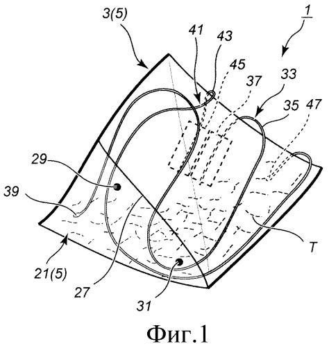 Экстракционный пакетик и лист упаковочного материала