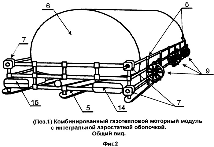 Аэростатический летательный аппарат (варианты)