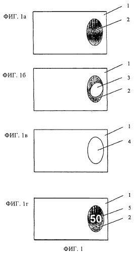 Ценный документ с защитой от подделки с помощью термочувствительной индикации