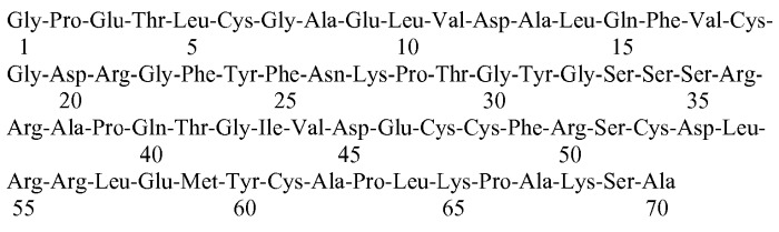 Аналоги инсулиноподобного фактора роста-1 (igf-1), содержащие аминокислотную замену в положении 59