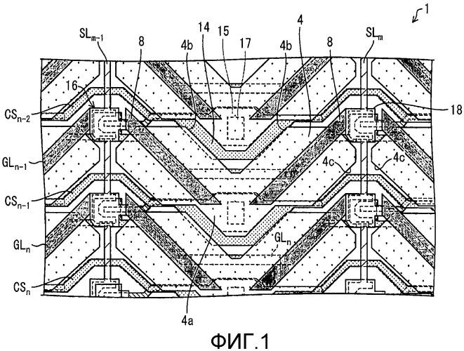 Жидкокристаллическая панель отображения и жидкокристаллическое устройство отображения