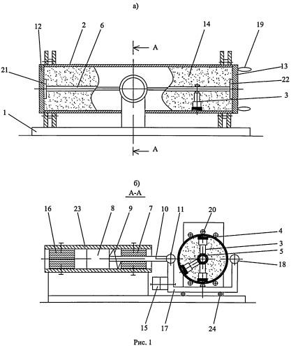 Стенд для испытания длинномерных образцов при многоточечном изгибе