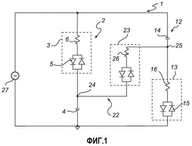 Компоновка схемы светоизлучающих диодов с улучшенной рабочей характеристикой мерцания