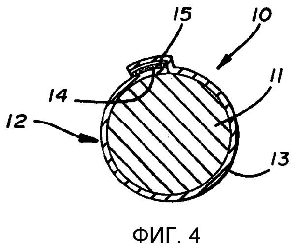 Кабель связи с матерчатым рукавом