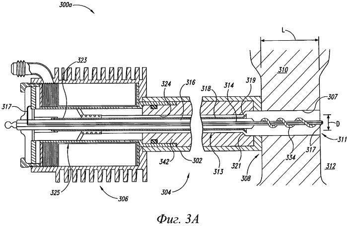 Интегрированные топливные воспламенители для использования в крупных двигателях и соответствующие способы использования и изготовления