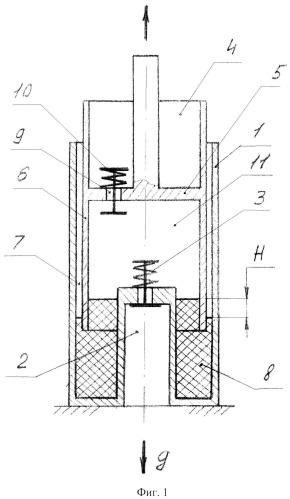 Способ взаимного преобразования механической энергии и потенциальной энергии сжатого газа
