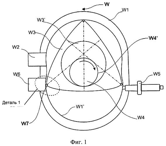 Роторный двигатель внутреннего сгорания