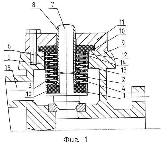 Конструкция для разделения двух сред кашигина (варианты)