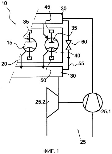 Способ управления частотой вращения турбонагнетателя поршневого двигателя и система управления для поршневого двигателя с турбонаддувом