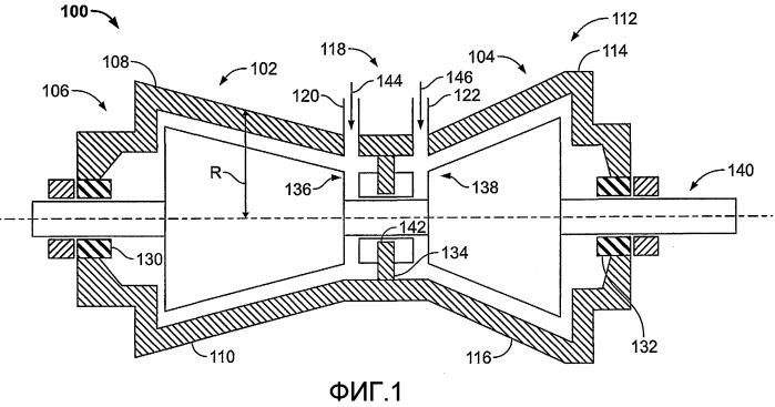 Кольцевой неподвижный элемент для использования с паровой турбиной и паровая турбина