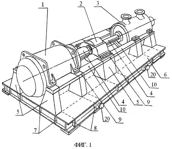 Блочный компрессорный агрегат