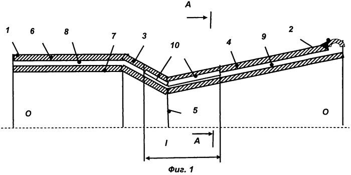 Система охлаждения камеры жидкостного ракетного двигателя