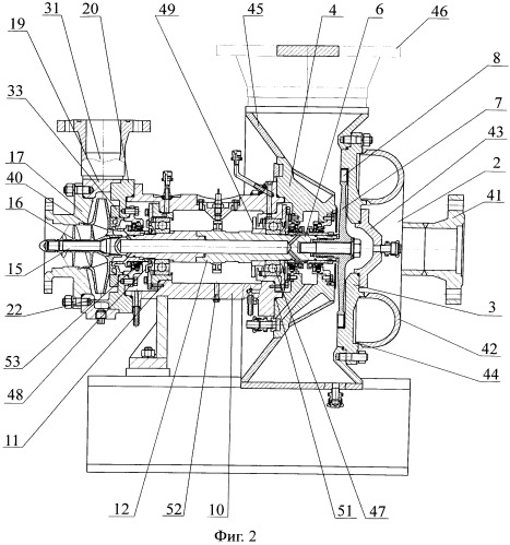 Турбонасосный агрегат и способ перекачивания холодной, горячей и промышленной воды