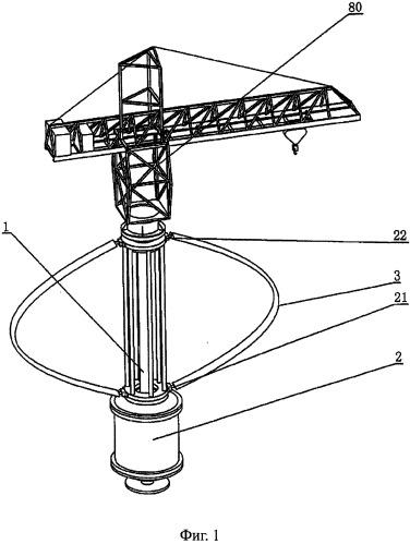Вертикальный ветровой электрогенератор