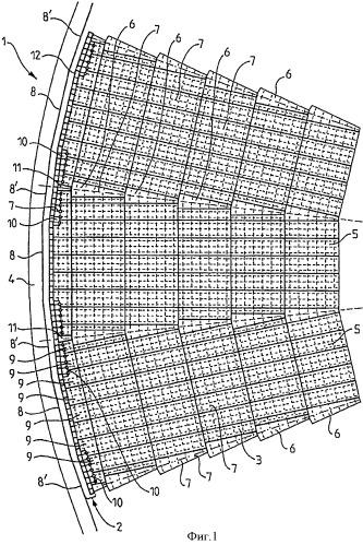 Многоугольный резервуар для спг