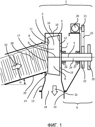 Вскрыватель тюков для энергетической установки на биомассе