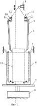 Способ заполнения мягких контейнеров сыпучим материалом и устройство для его осуществления