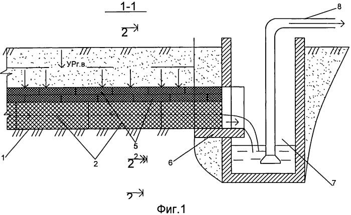 Способ возведения подземного горизонтального водозабора комбинированной конструкции